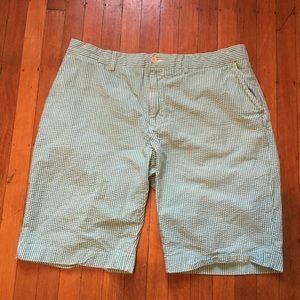 Polo Ralph Lauren 38 Seersucker Stripe Shorts